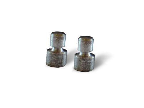 2 Abscherbolzen für Rasentraktoren mit 102cm Mähwerken