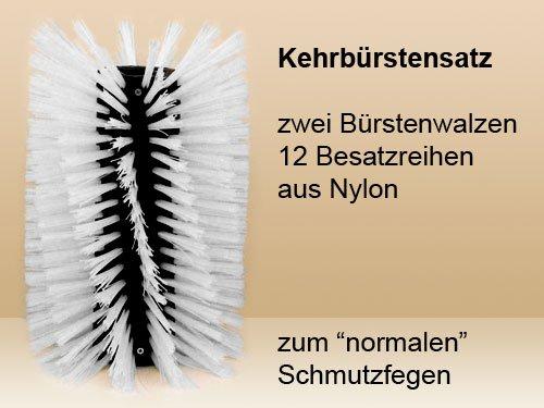 Kehrbürstensatz Nylon für Limpar 122