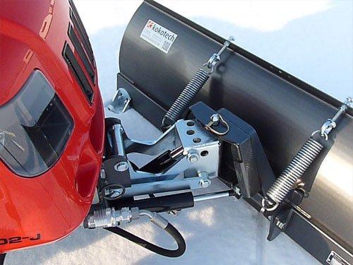 Schneeräumschild 125 cm mit hydraulischem Schwenken und Heben