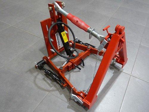 3 Punkt Hydraulik verstellbar mit Kuppeldreieck