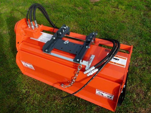 Bodenfräse mit hydraulischem Antrieb - 125 cm