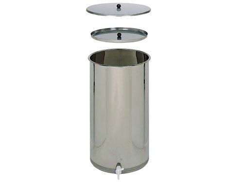 Edelstahlbehälter (65 bis 170 Liter)