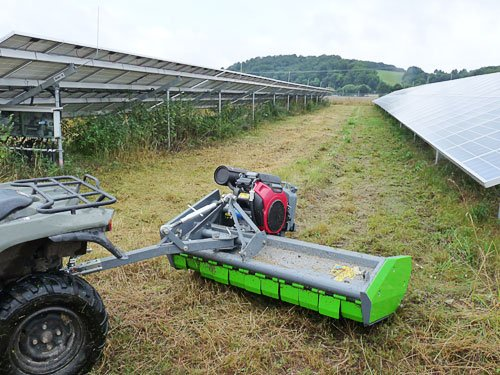 Schlegelmulcher SG1500-PV für ATV Quad