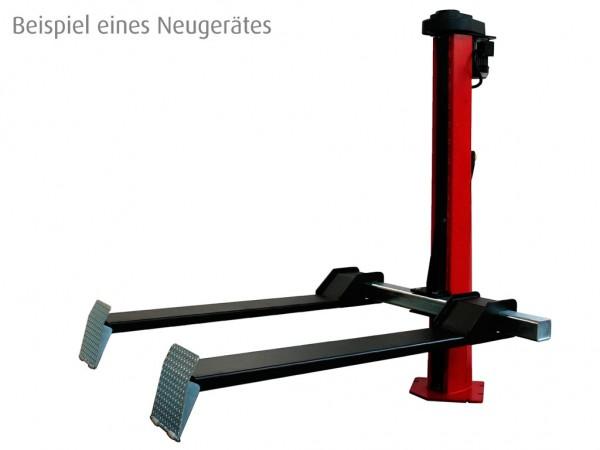 Gebrauchte 1-Säulenhebebühne Werther Monolift 1200