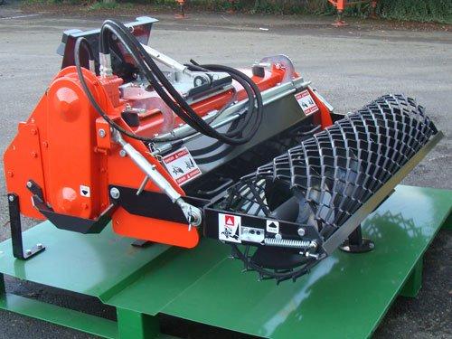 Bodenumkehrfräse mit hydraulischem Antrieb - 125 cm