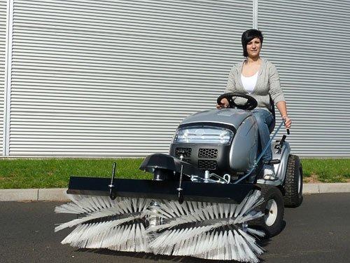 Anbau - Kehrmaschine für MTD 120 cm