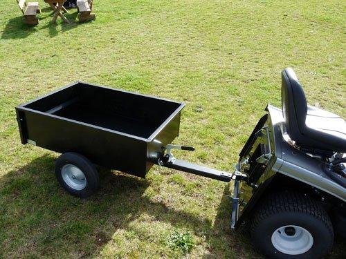 Anhänger 300 kg kippbar [schwarz]