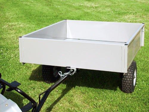 Anhänger 350 kg kippbar (größere Mulde)